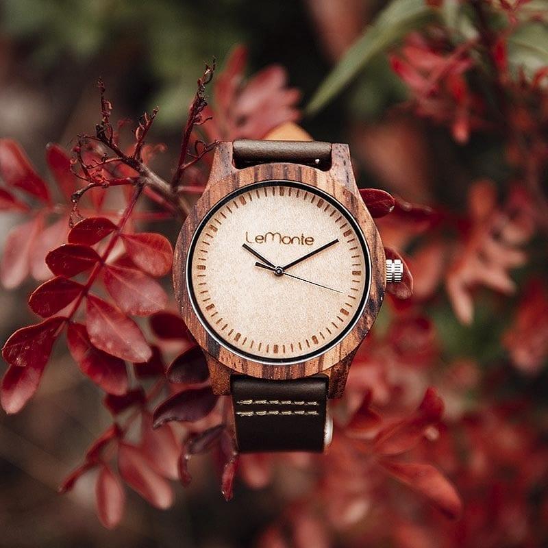 Reloj de madera Conway