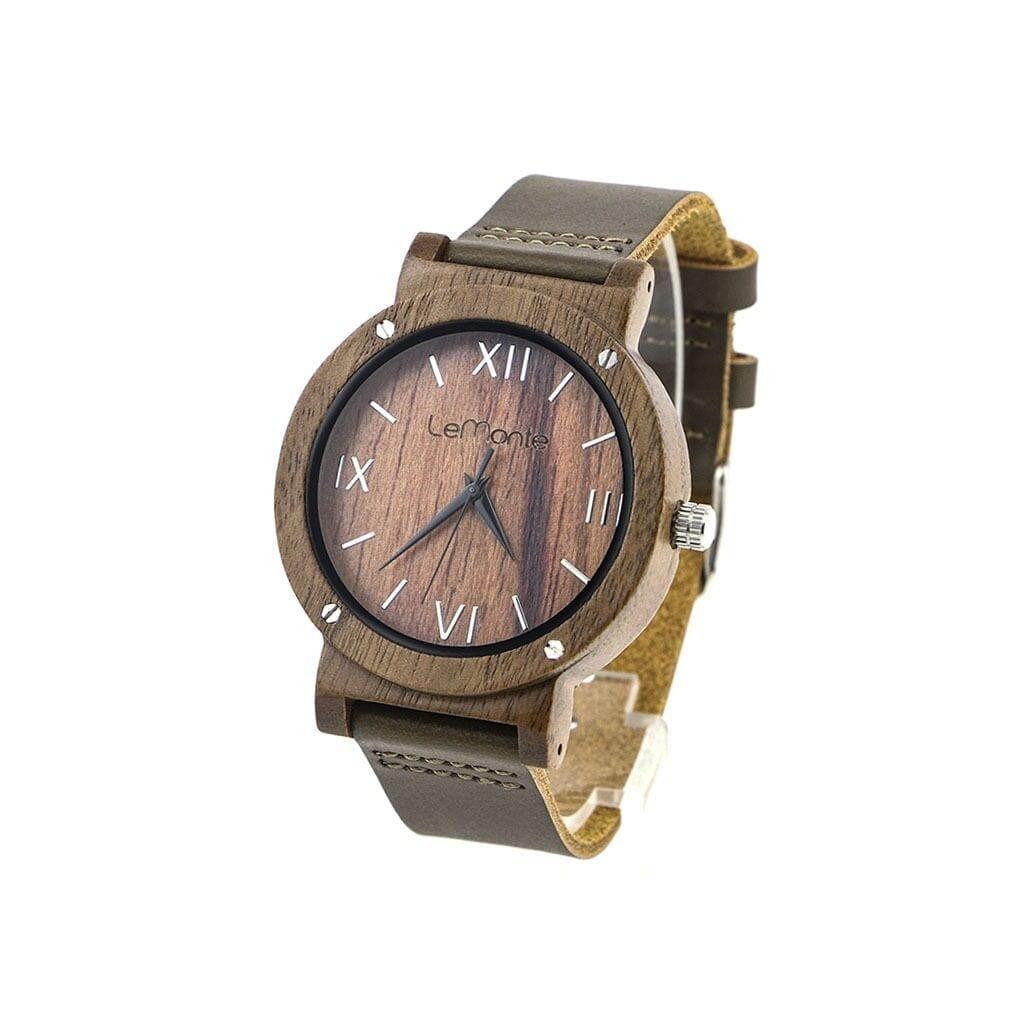 Reloj de mano de madera