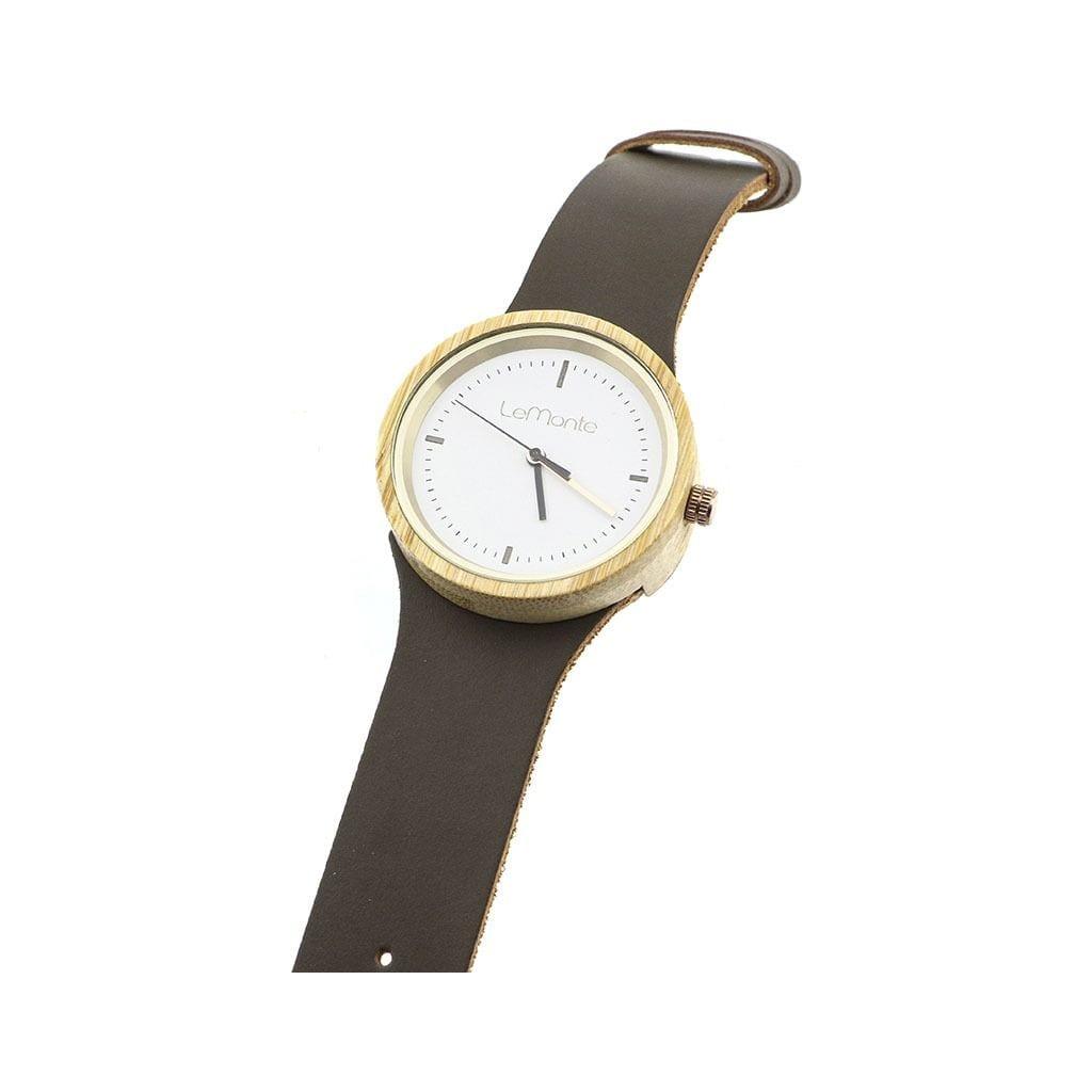 Reloj para mujer de madera lemonte