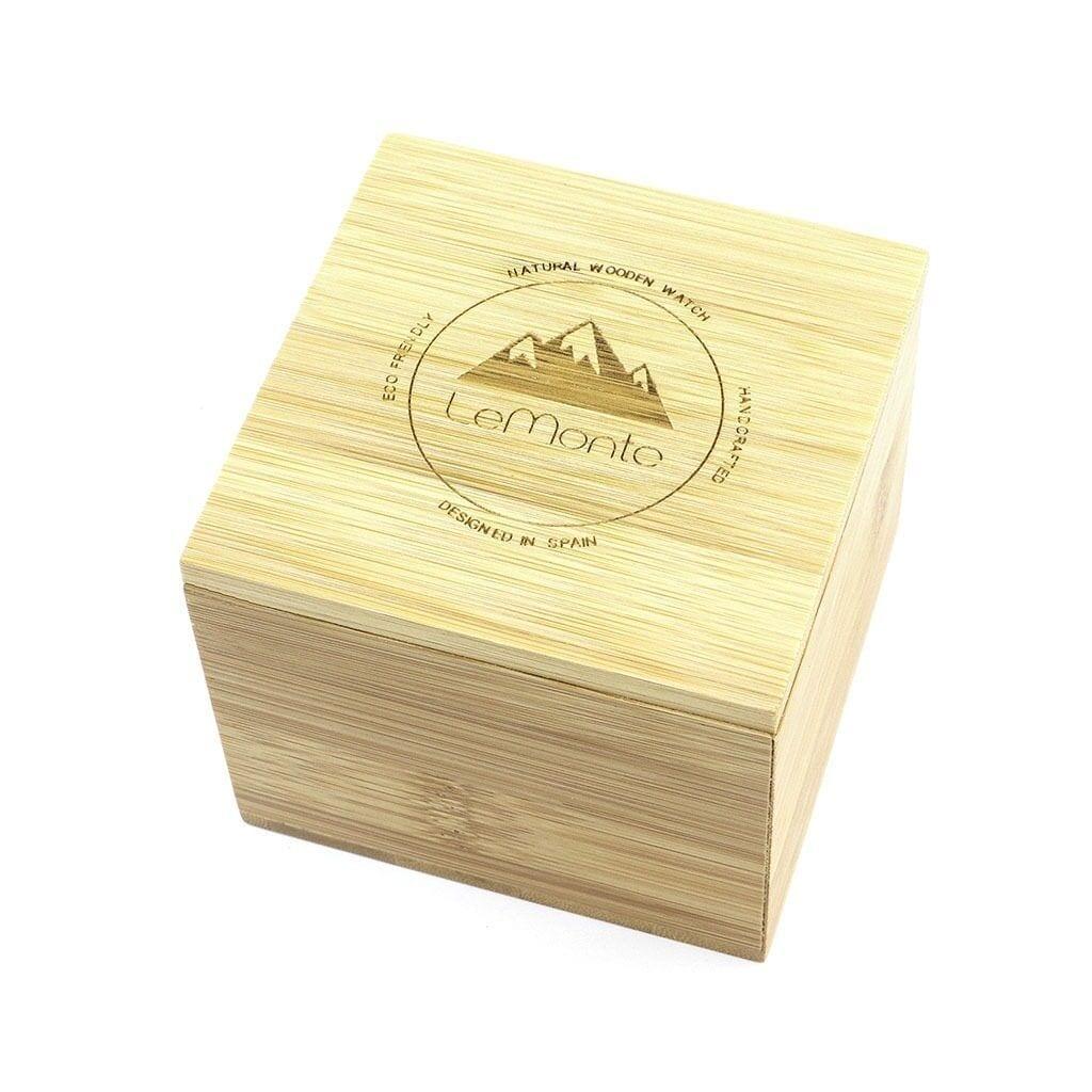 Caja de madera para reloj LeMonte