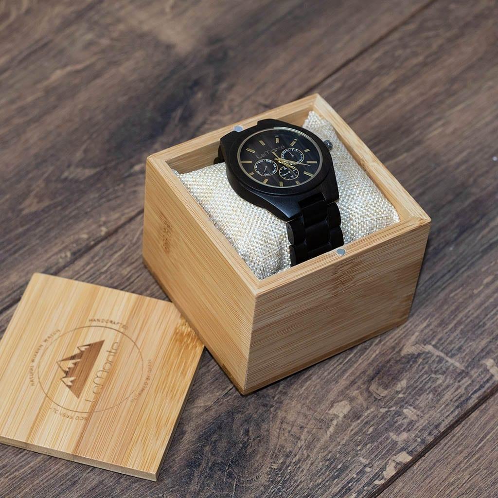 Caja de madera para reloj