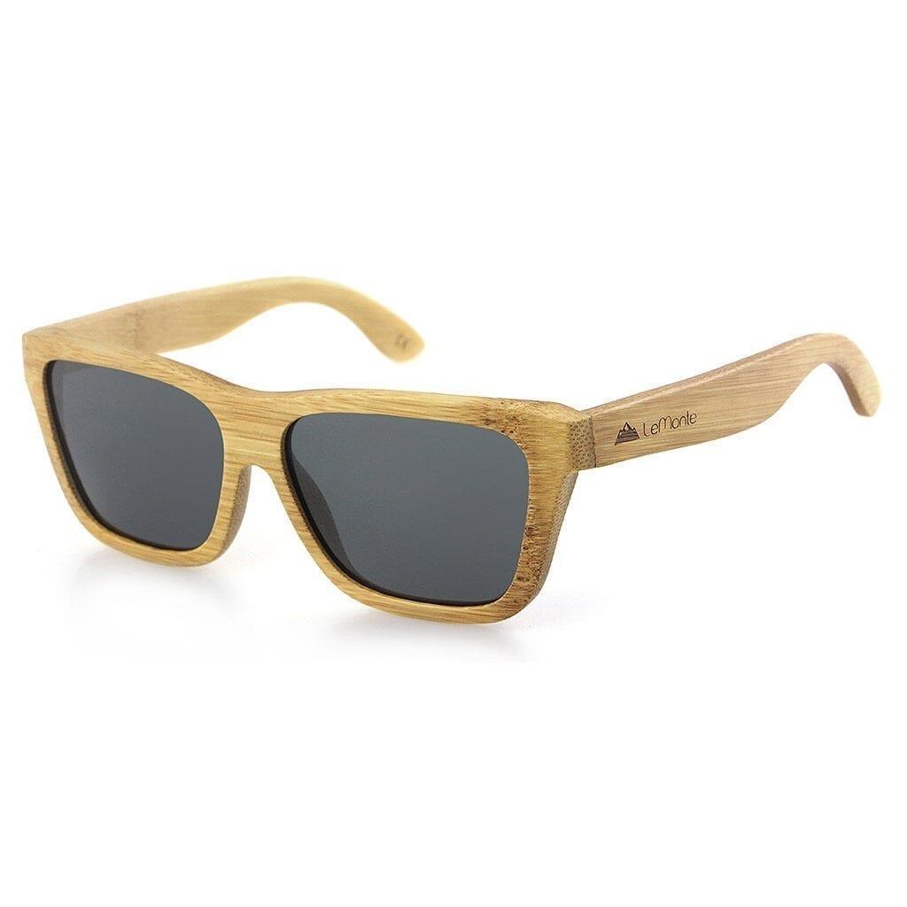Gafas de bambu polarizadas