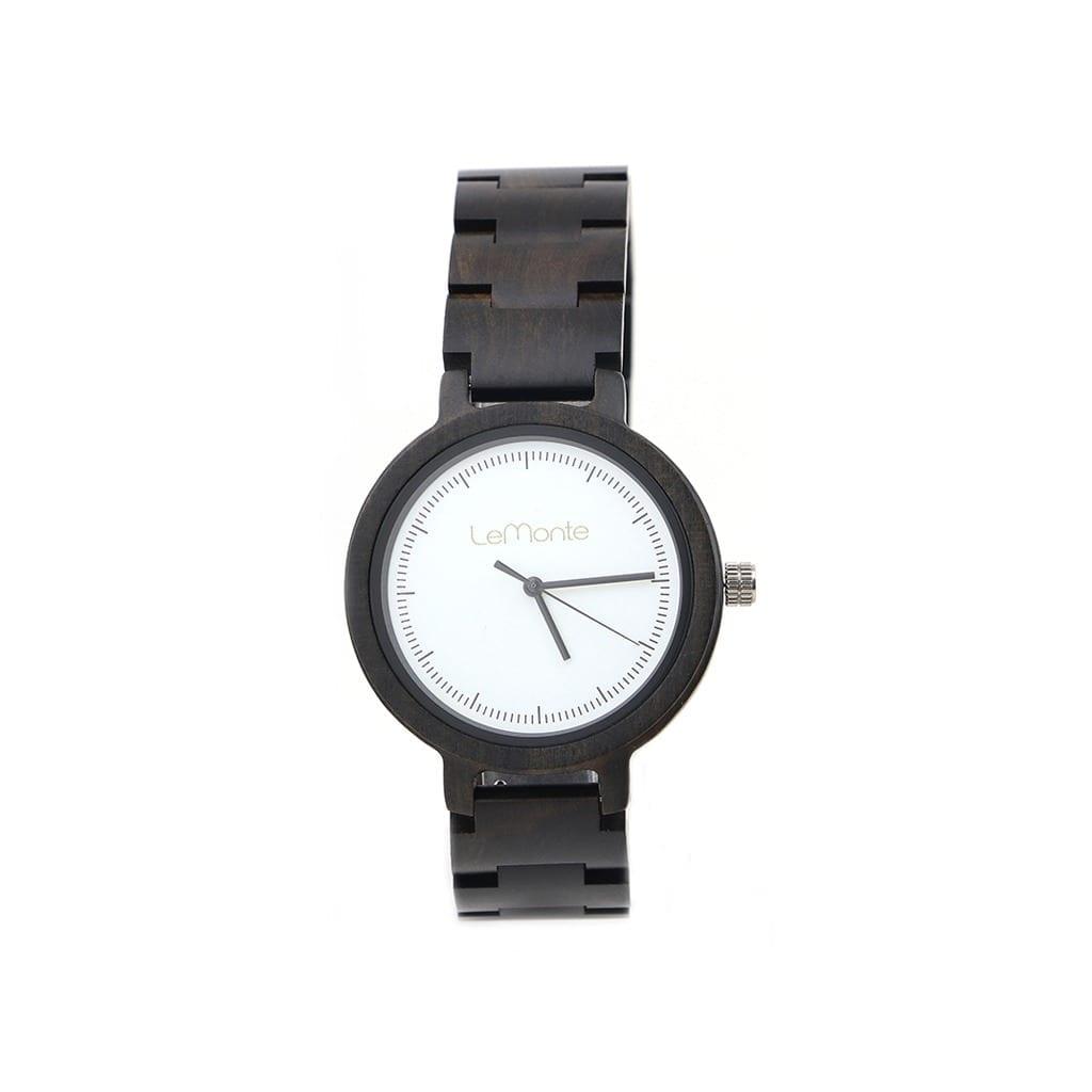 Reloj de madera Loa
