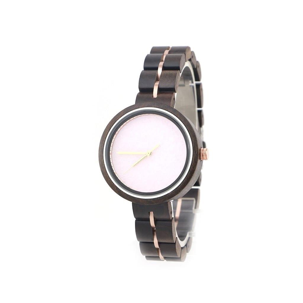 Reloj de mujer pulsera madera