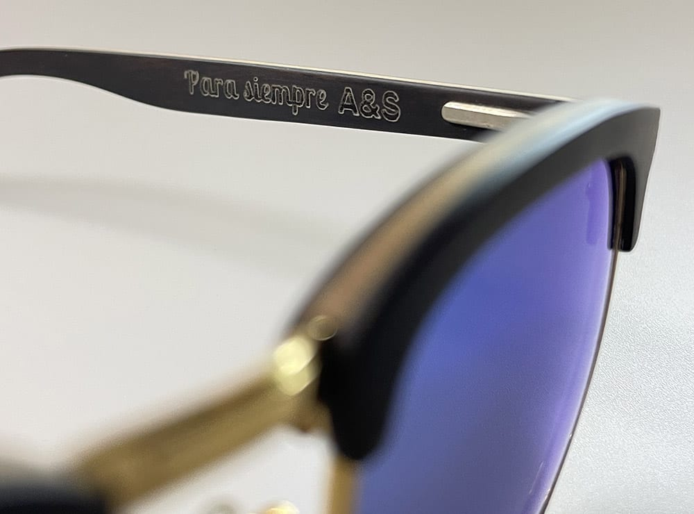 Gafas madera personalizadas
