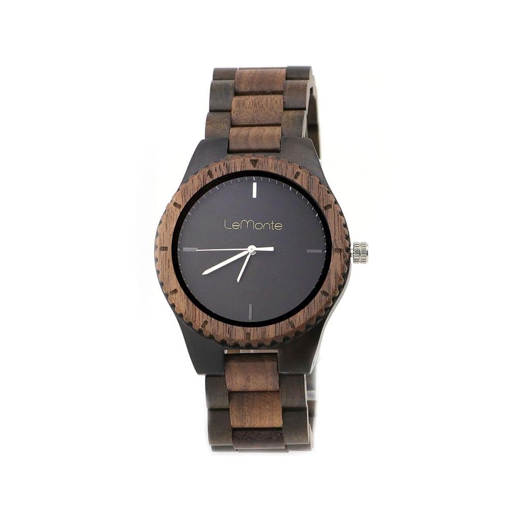 Reloj con correa de madera Lemonte