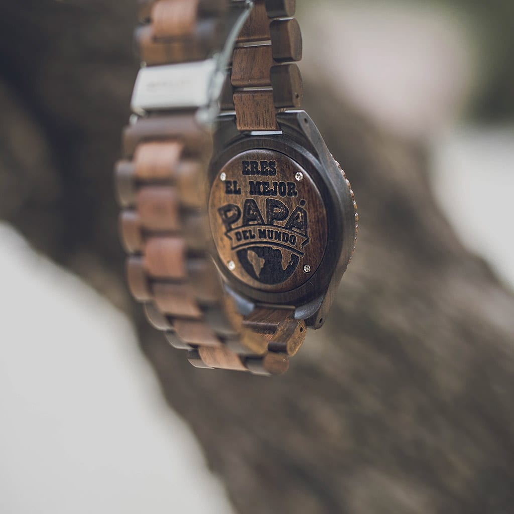 Reloj con grabado