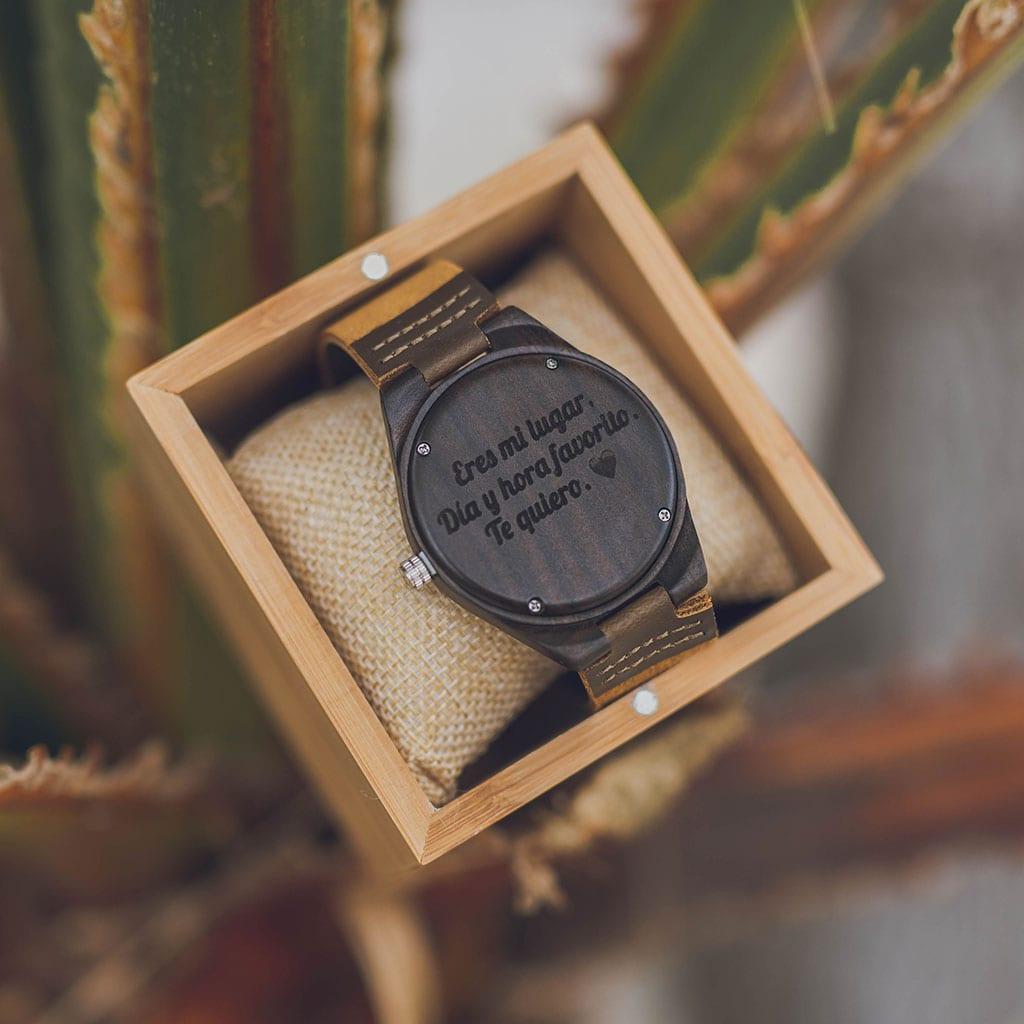 Reloj con mensaje