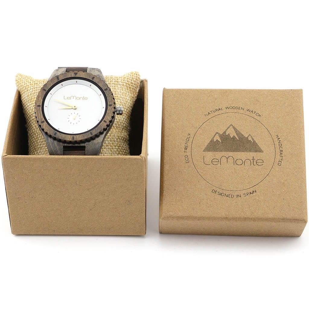 Reloj de madera hombre