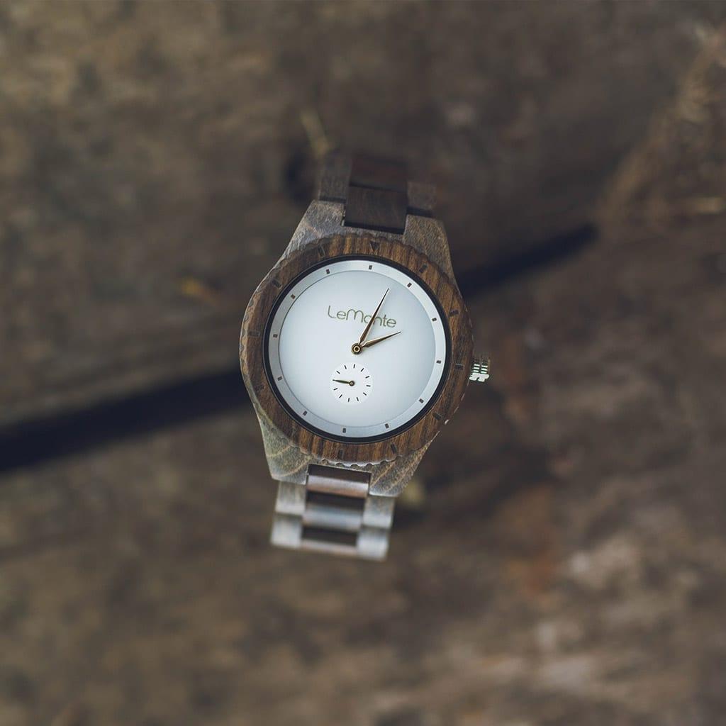 Reloj hombre de madera