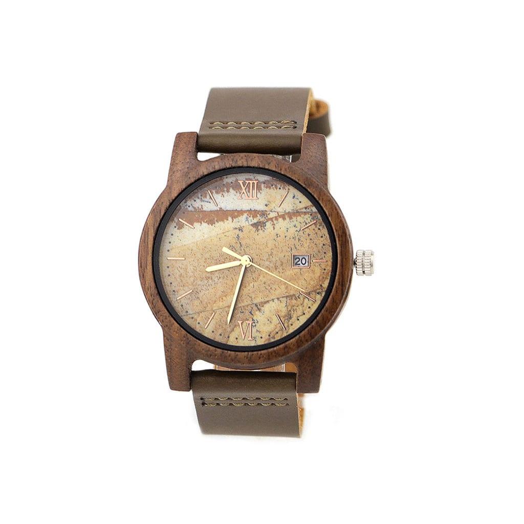 Reloj madera Atlas