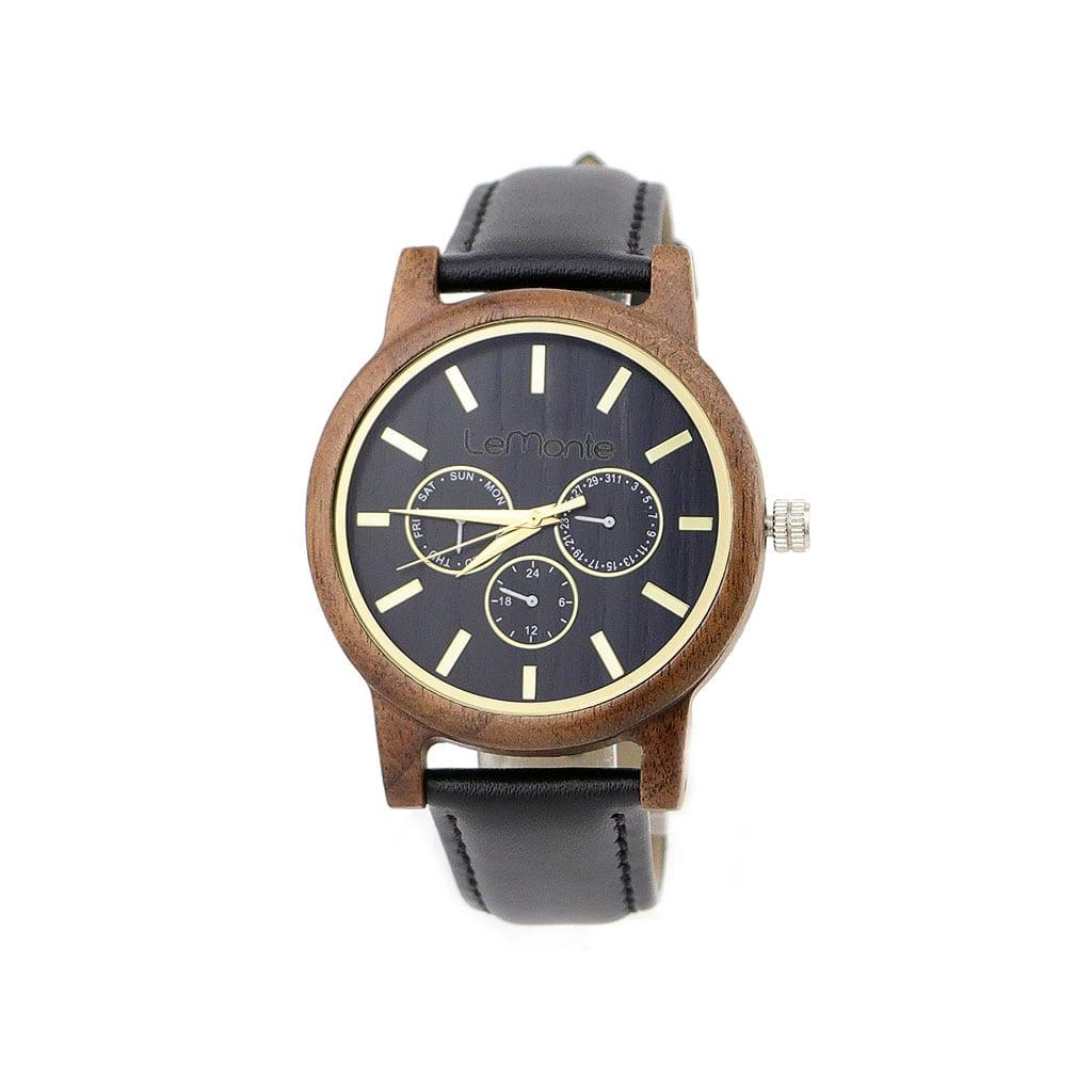 Reloj madera modelo Aneto