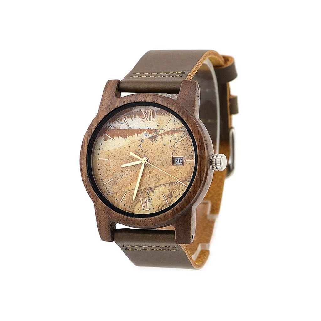 Reloj madera modelo atlas