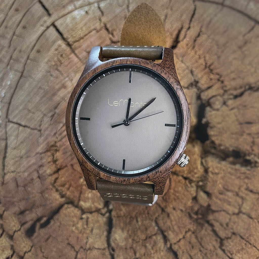 Reloj madera Mulhacén
