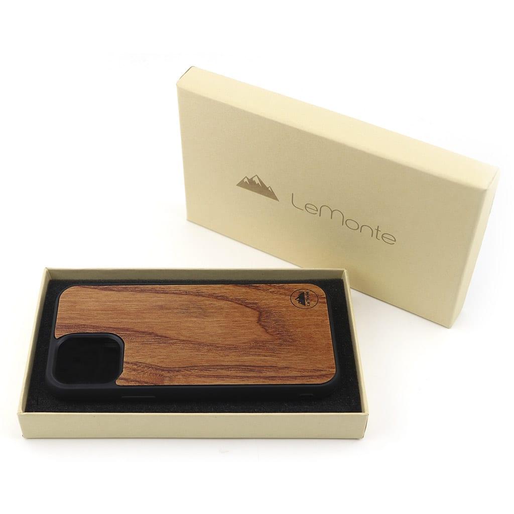Funda de iphone 12 madera
