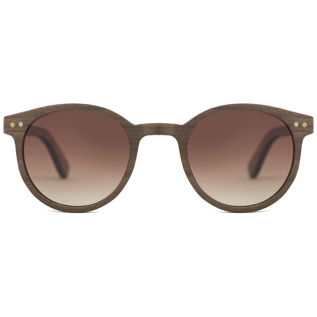 Gafas de madera de mujer