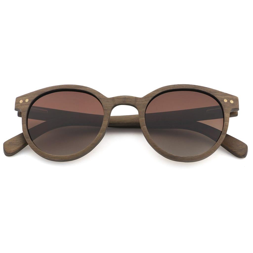 Gafas de mujer de madera