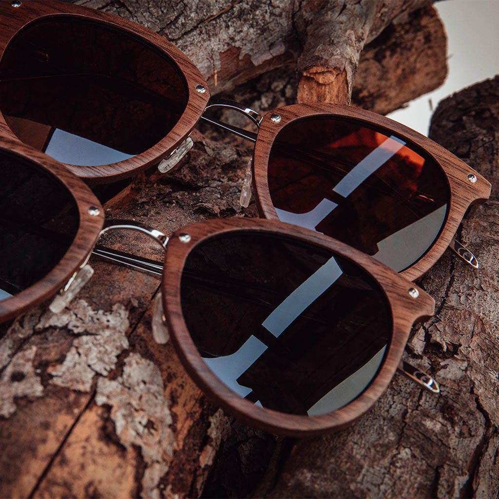 Gafas en madera