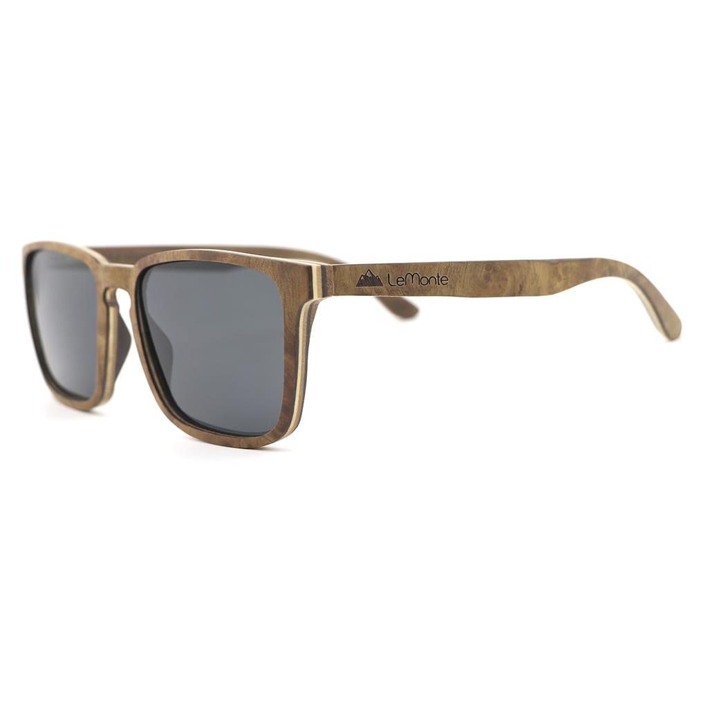 Gafas de madera para hombre