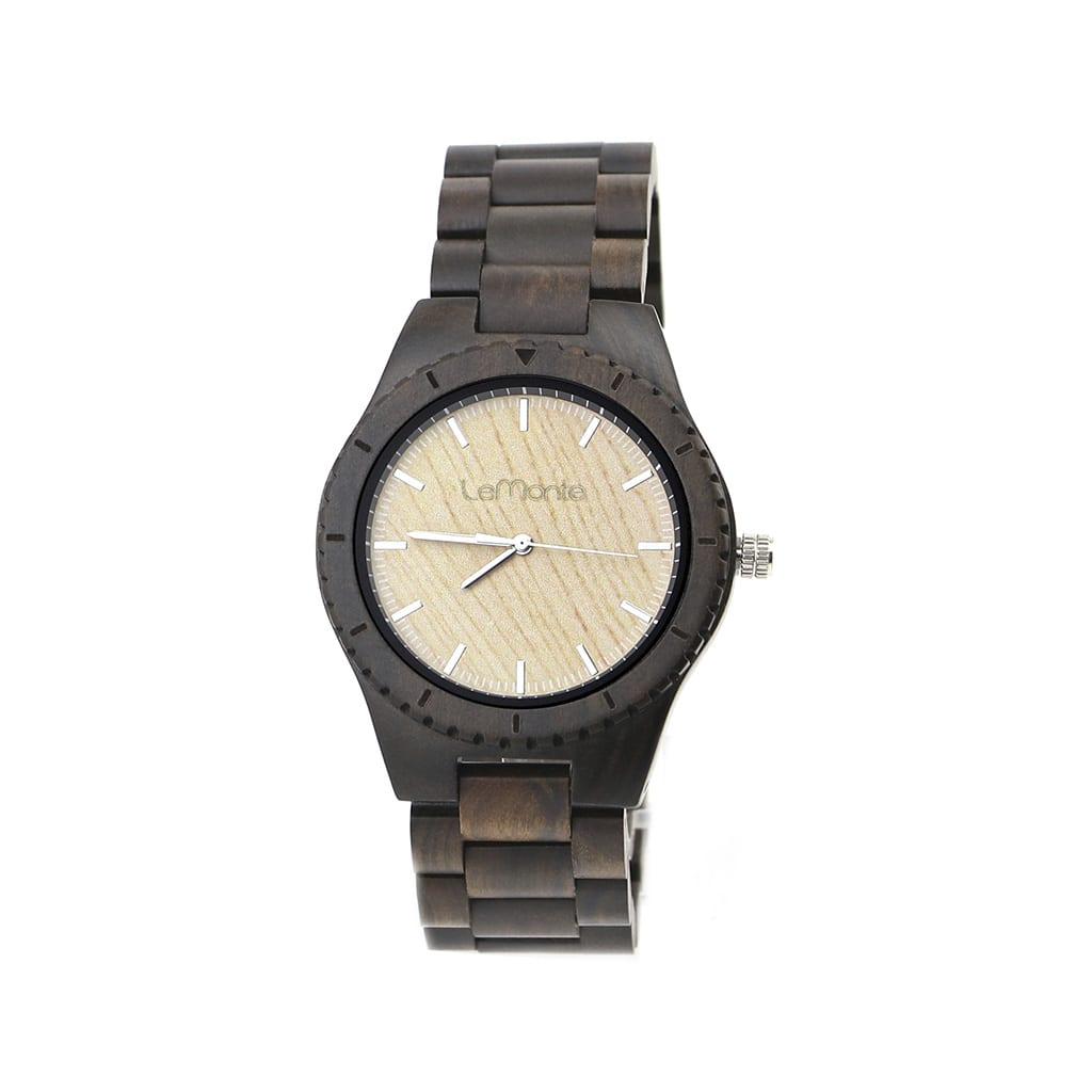 Reloj de ébano para hombre