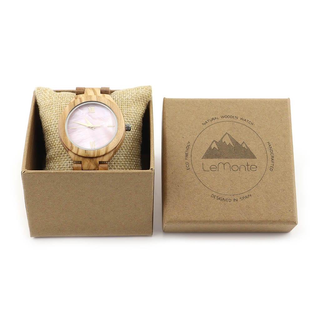 Reloj de mujer en caja de cartón