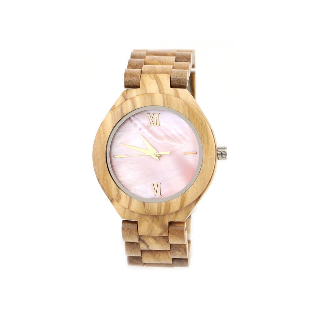 Reloj de mujer de pulsera de madera