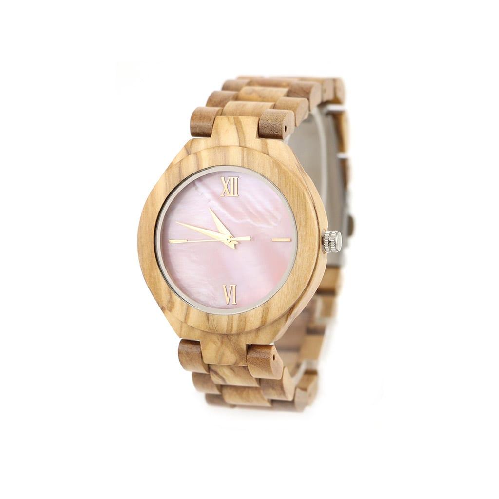 Reloj para mujer de madera