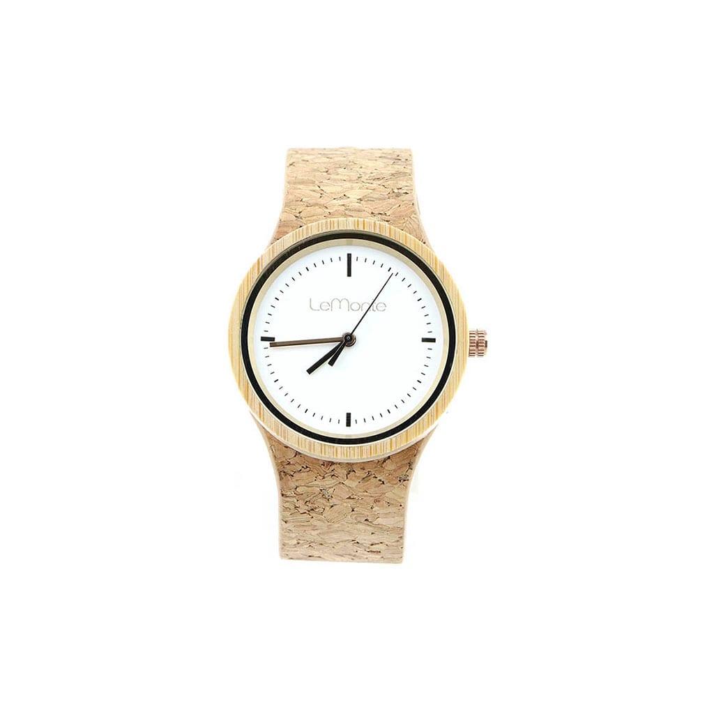 Reloj pulsera corcho