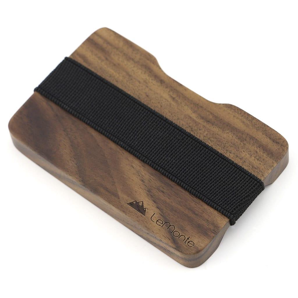 Tarjetero de madera
