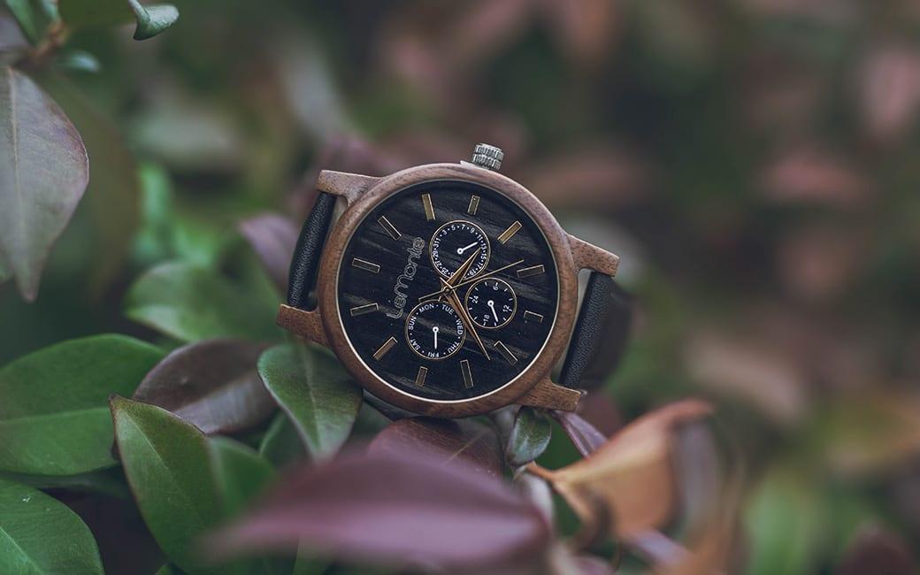 Reloj en madera lemonte