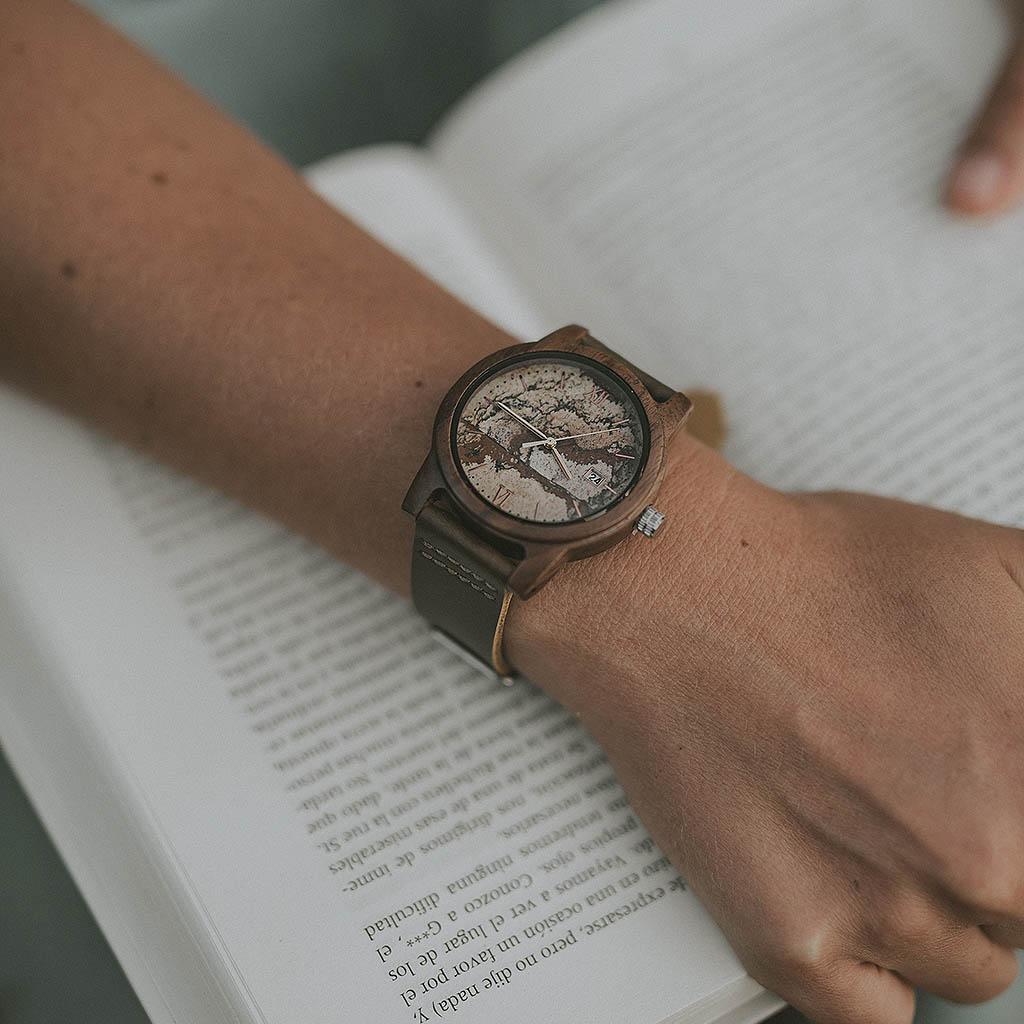 El mejor reloj de madera