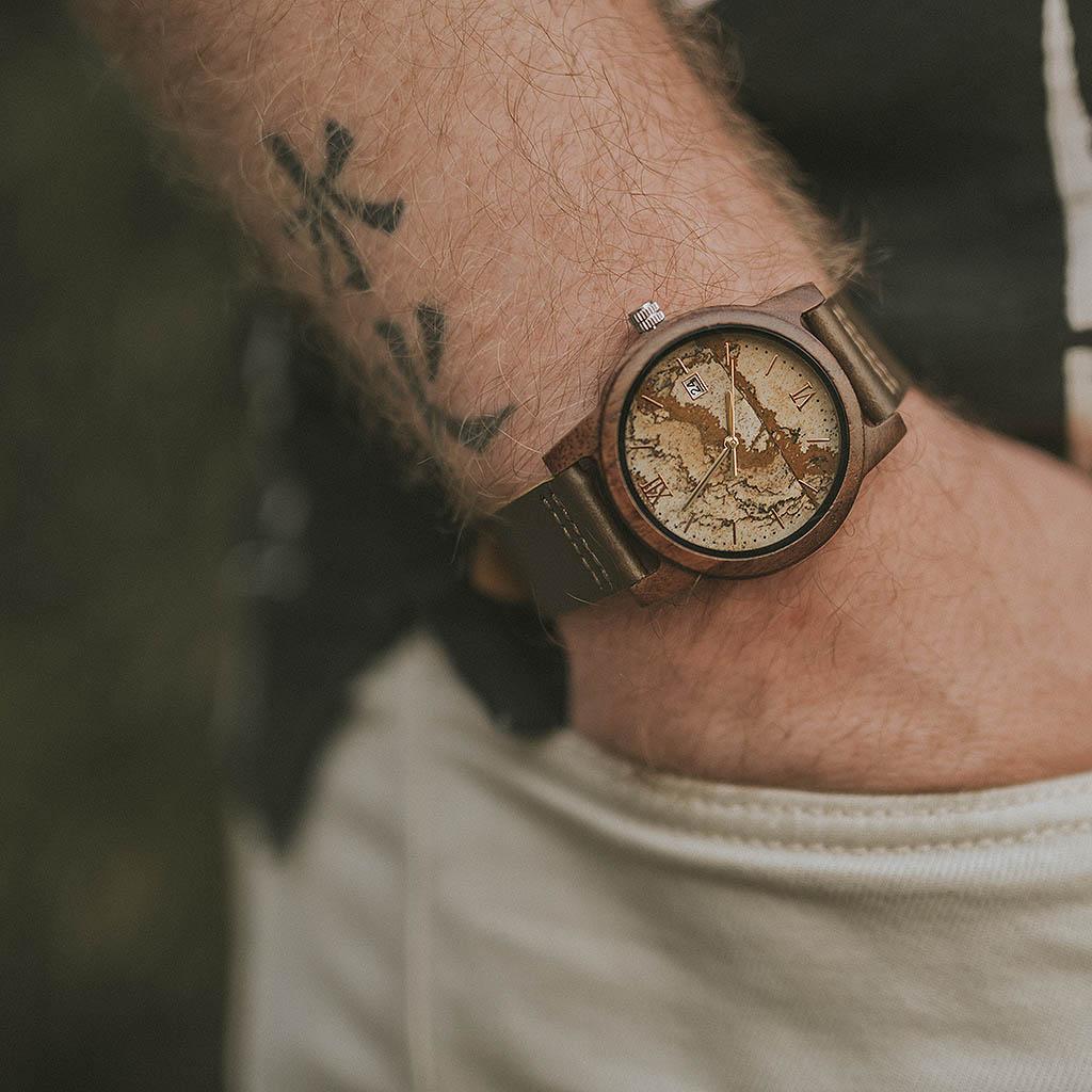Mejor reloj madera hombre