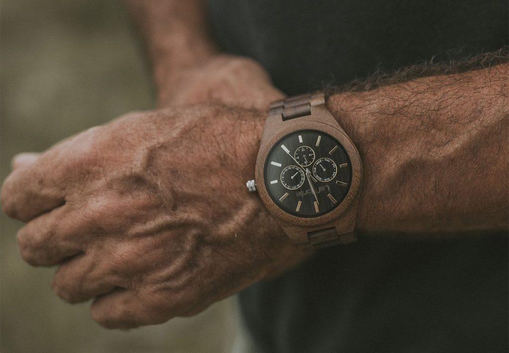 Reloj de hombre de madera Lemonte