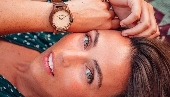 Reloj madera Lemonte